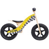 "Rebel Kidz Wood Air - Draisienne Enfant - 12"" Taxi jaune"